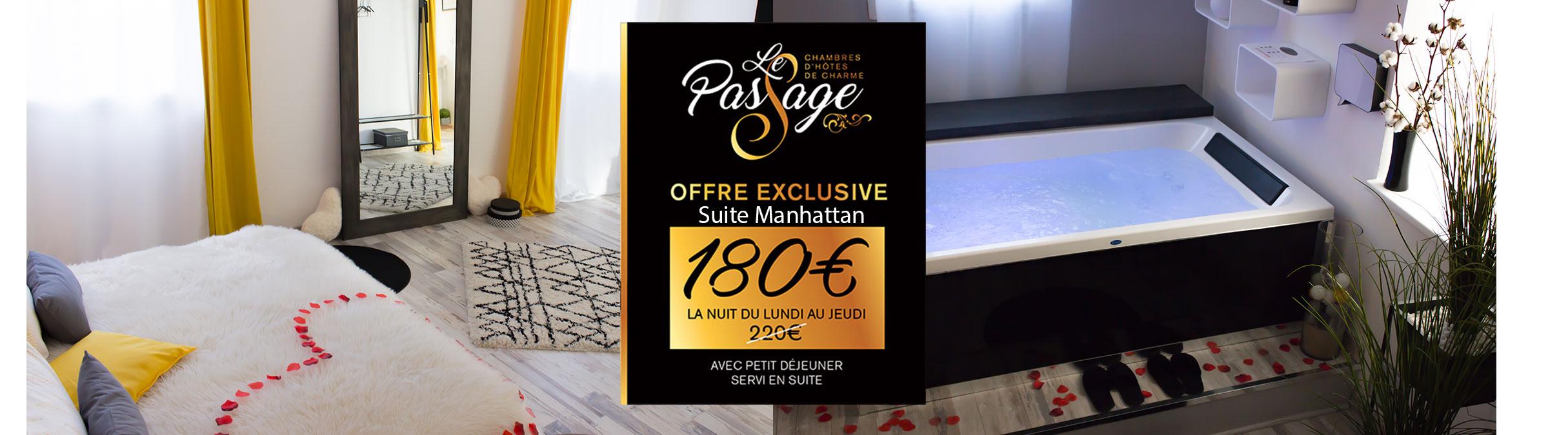 Tarif spécial suite Manhattan